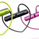 Sony Walkman NWZ-250 resistente al agua