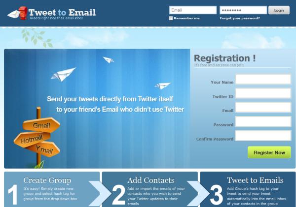 Envíar tweets automaticamente a email de nuestros contactos