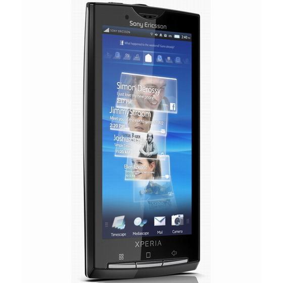 Sony Ericsson XPERIA X10 características y especificaciones  técnicas