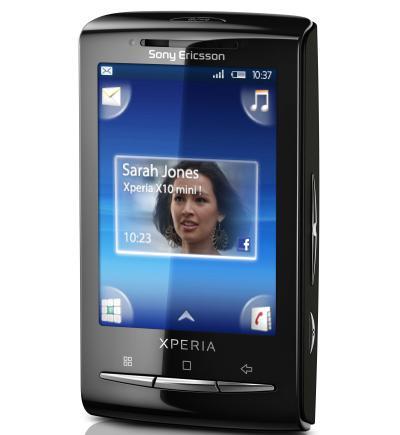 Sony Ericsson Xperia X10 Mini caracteristicas y descargar aplicaciones