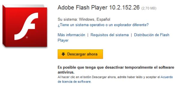 Ya está disponible para descargar Adobe Flash Player 10.2