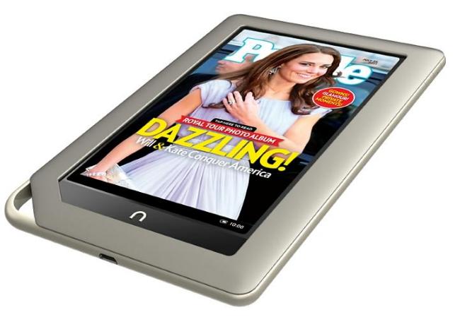 Nook Tablet, características y especificaciones técnicas ...