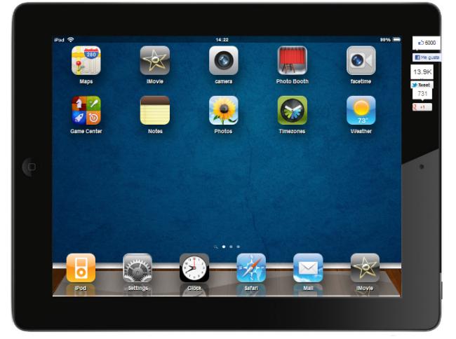 iPad Virtual, simulador de iPad en tu PC