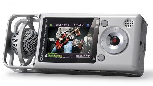 Videograbadora portátil Zoom Q2HD características y especificaciones