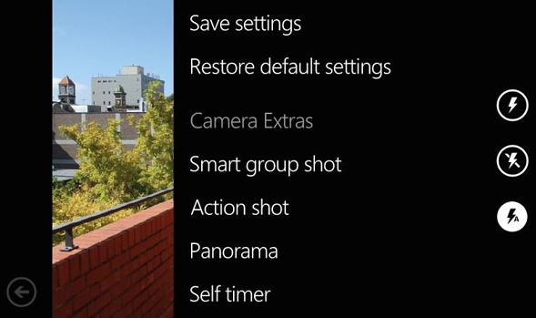 Nokia Camera Extras es una aplicación que mejora la cámara de los móviles con Windows Phone